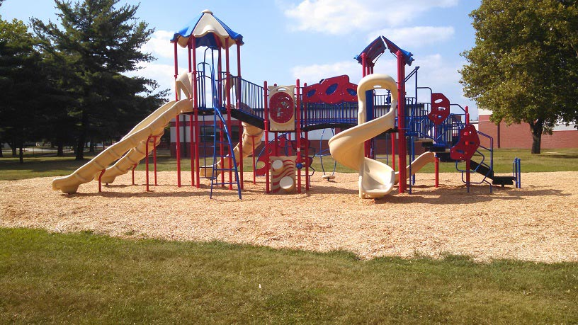 Carlin Park Elementary School playground in Angola IN
