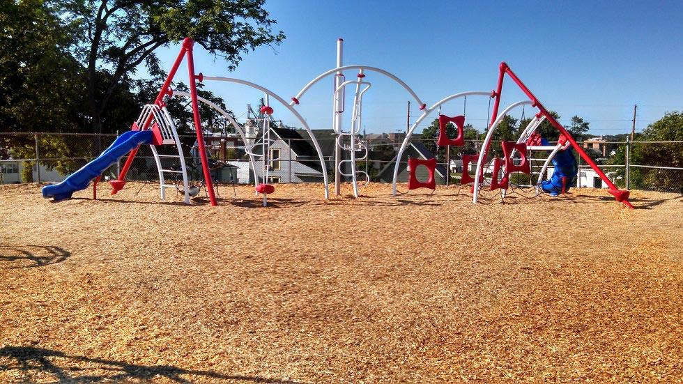 Chamberlain Elementary School playground in Goshen IN