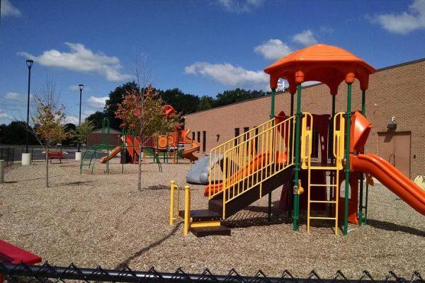 Playground at Explore Grow Preeschool in Kentwood MI