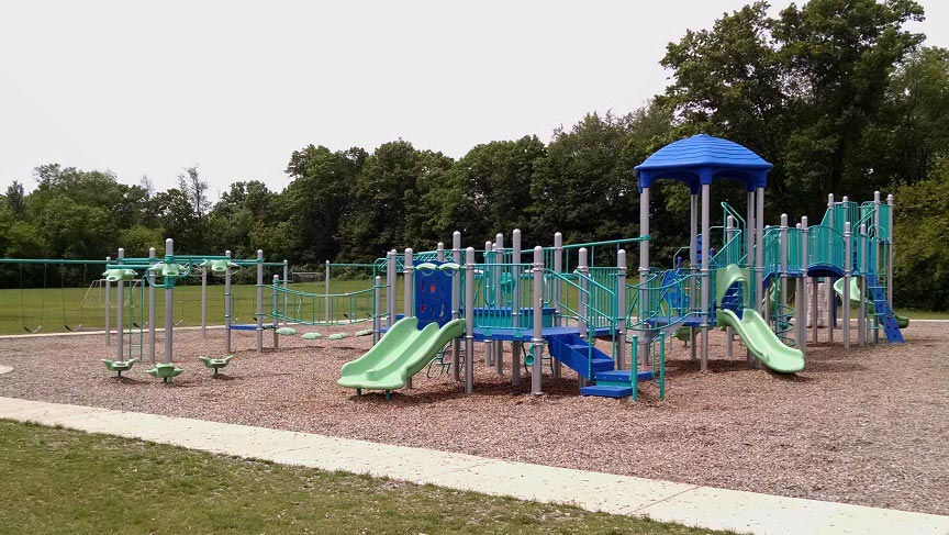 Hilton Elementary School Playground in Brighton MI