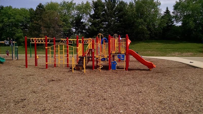 Hornung Elementary School Playground in Brighton MI
