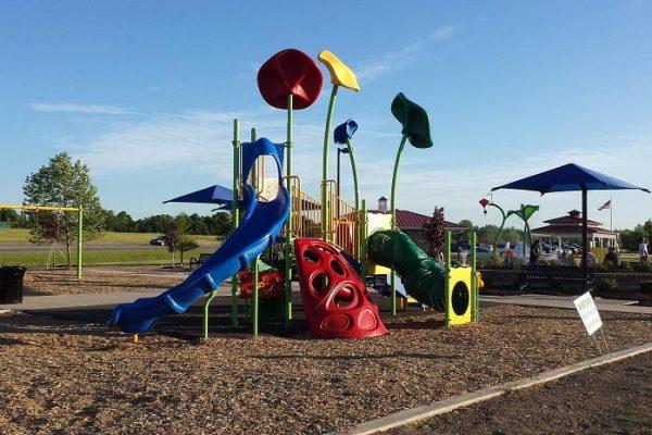 Riverside Gardens Playground Leo - Cedarville, IN