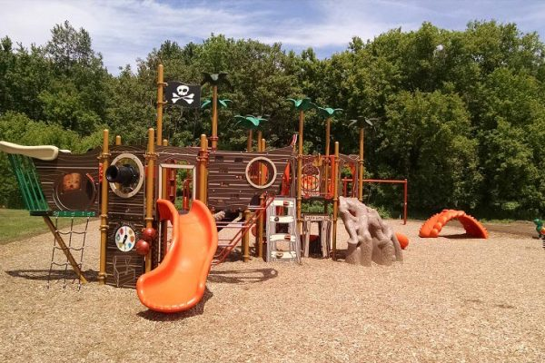 Playground at Washington Square Apartments in Perry MI